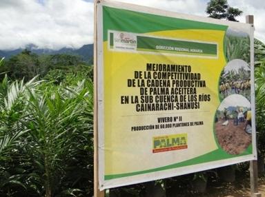 Radio emanuel tocache san martin entregan plantones de for Viveros en maldonado