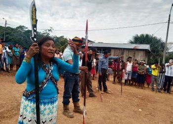 Pobladores de Andoas (Foto referencial)